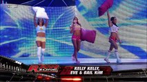 Kelly Kelly, Eve Torres and Gail Kim vs. Maryse, Alicia Fox and Jillian Hall