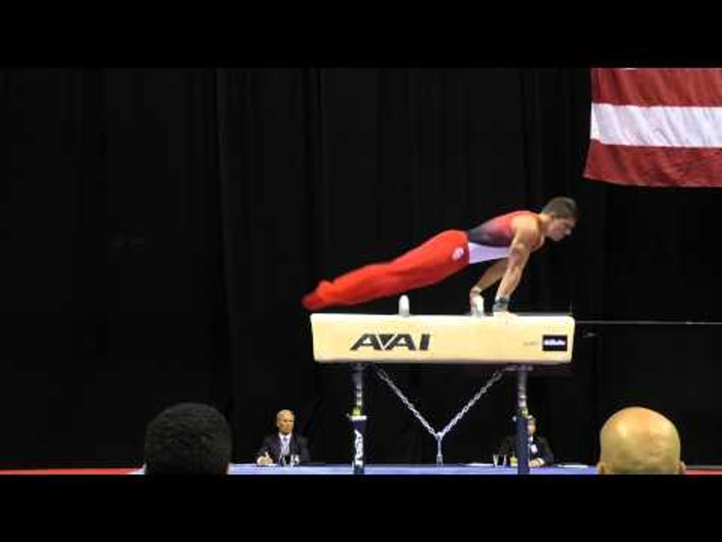 Hunter Justus - Pommel Horse - 2015 P&G Championships - Sr. Men Day 2