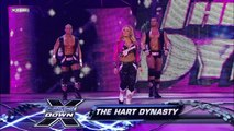 Maria, Matt Hardy and The Great Khali (w/ Ranjin Singh) vs. The Hart Dynasty