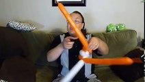Clown Fish Balloon Animal Tutorial (Balloon Twisting & Modeling #2)