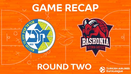 EuroLeague 2017-18 Highlights Regular Season Round 2 video: Maccabi 74-68 Baskonia