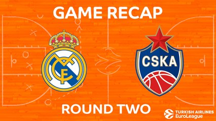 EuroLeague 2017-18 Highlights Regular Season Round 2 video: Real Madrid 82-69 CSKA Moscow