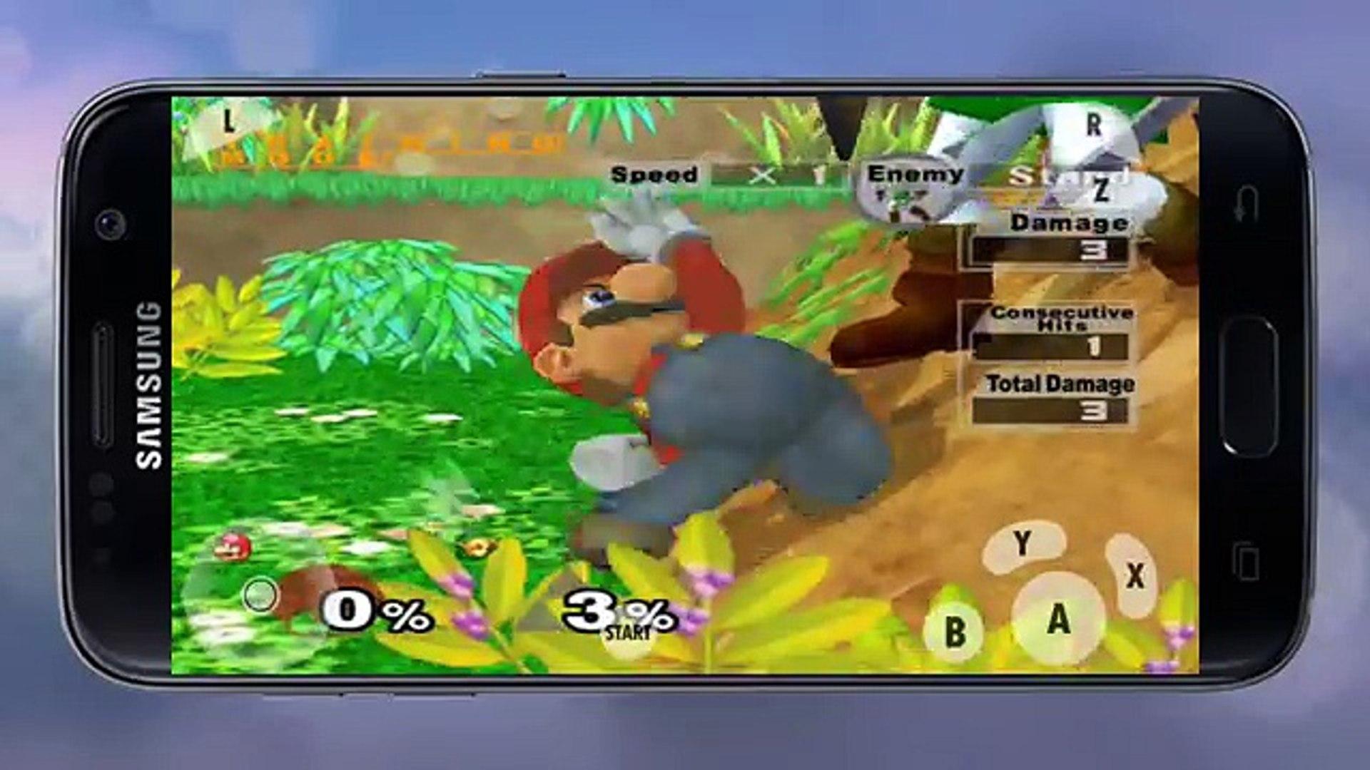 Super Smash Bros  Melee on Galaxy S7 (Dolphin Emulator)