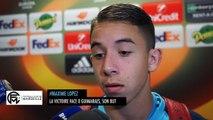 Lopez revient sur la victoire face à Guimaraes et raconte son but