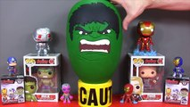 Avengers Age Of Ultron Week: Episode 2, With A Hulk Play-Doh Surprise Egg, Thor and Hulk Funko Pops!