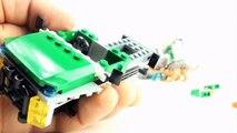 Dino Bricks Triceratops and Velociraptor - Lego compatible Dinosaur set - Dinosaurs speed build