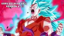 Dragon Ball Super - TOP transformations Vegeta, Goku, Gohan and Trunks 2017 #1
