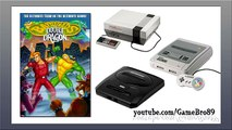 Battletoads Double Dragon Сomparison NES - SEGA - SNES - Сравнение
