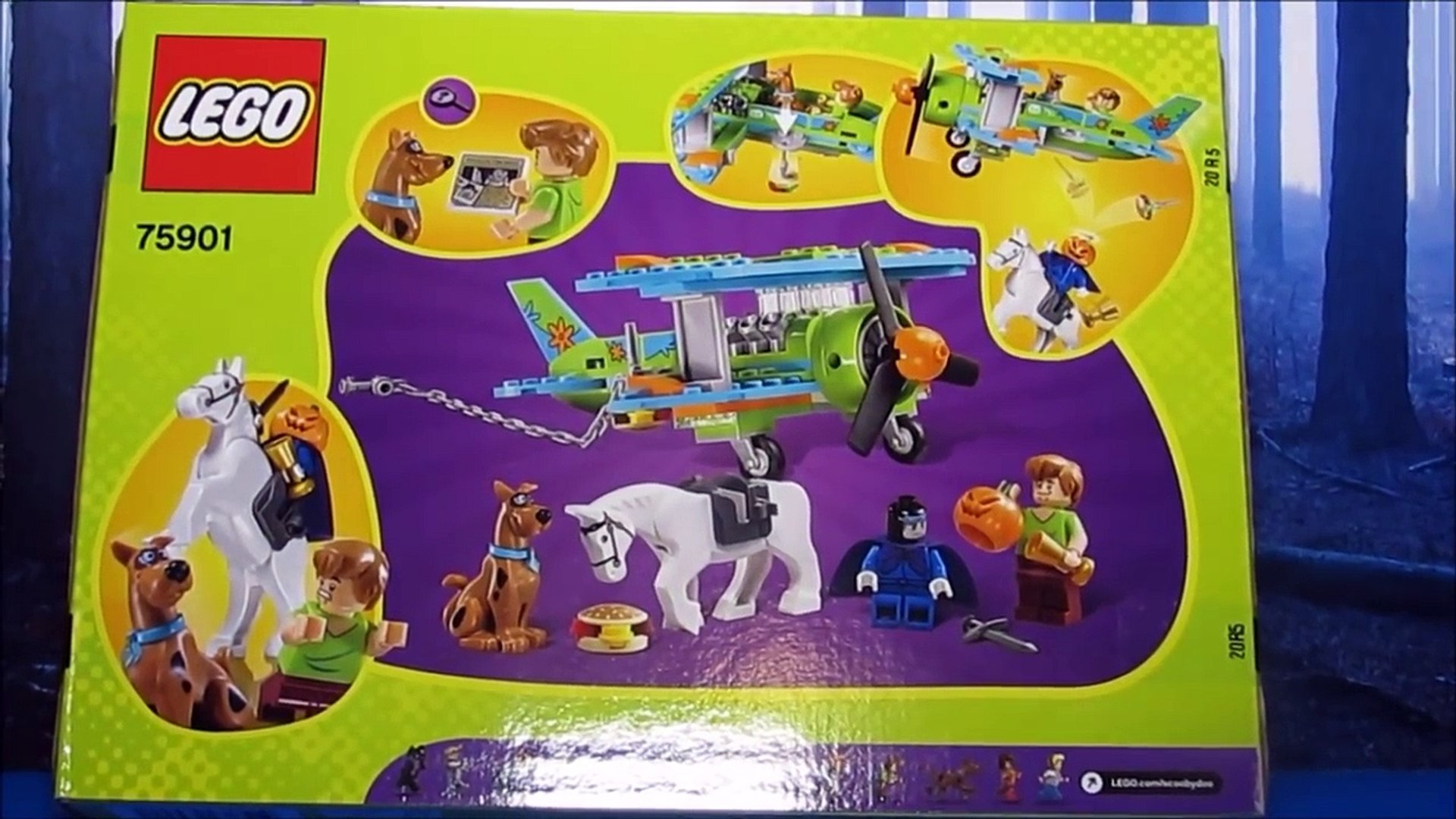 LEGO SCOOBY-DOO Mystery Plane Adventures 75901 Shaggy Minifig w//Clue Brick