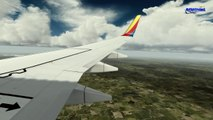 [P3Dv3] Boeing 737-700 | Southwest Airlines | Washington - Atlanta