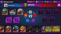 TMNT Legends PVP​​ 384 (Leonardo Legend, Donatello LARP, Raphael Vision, Mikey Movie)