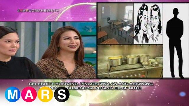Mars Mashadow: Celebrity husband, pinagbawalan ang asawang aktres na bumeso sa poging ex-bf nito?