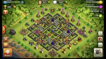 Clash of Clans - Amazing Clan war Best strategy Witches attack 3 stars | Destroy max TH10