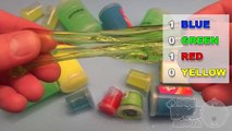Learn Colours With Ooze, Glitter Putty and Slime! Fun Learning Contest!