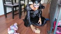 Joker Girl vs Spider PRANK! w/ Spiderman Frozen Elsa Bad Baby Joker Funny Superhero Video