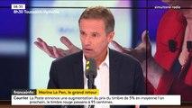 """""""Chacun est dans son couloir alors qu'il y a une révolution politique chez Macron et Mélenchon nous aurons une catastrophe"""", Nicolas Dupont-Aignan"""