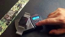 A Review of a 24mm Android Watch Co Solid Tungsten Bracelet on an Apple Watch