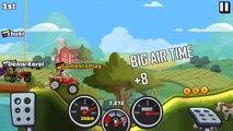Hill Climb Racing 2 New Santa Monster Truck fully upgraded GamePlaY
