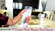 D.I.Y. Dollar Tree Cosmetic Makeup Brush Organizer Picture Frame - $10