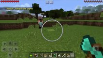 HOW TO SPAWN NOTCH IN MINECRAFT PE [I SPAWNED HIM!?]