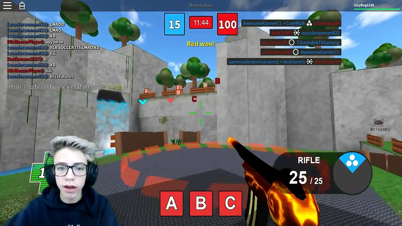 Roblox Mad Paintball 2 W Izzy Video Dailymotion