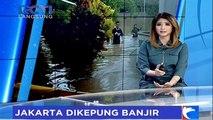 Kemang Banjir Usai Diguyur Hujan Deras