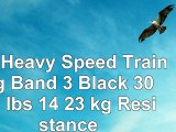 RB Heavy Speed Training Band  3 Black  30  50 lbs 14  23 kg Resistance