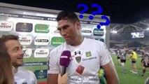 Le plus gros moment de solitude du rugby grâce à l'anglais de Sébastien Vahaamahina