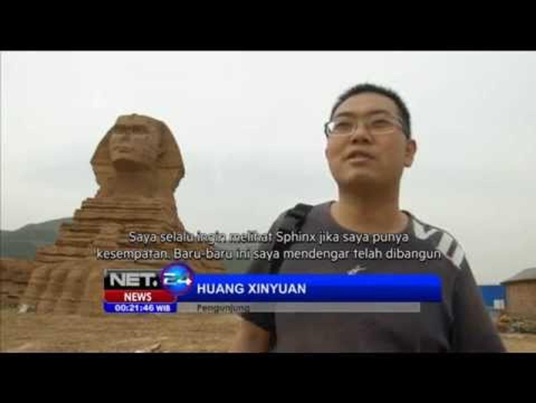 NET24 - Replika patung Sphinx di China