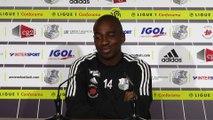 Conférence de Presse d'avant-match de Gaël_kakuta_Amiens SC - Girondins de Bordeaux