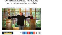 Gérard Depardieu donne la véritable raison pour laquelle il a quitté la France