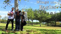 Wings like Eagles - Isaiah 40:31 - Violin Piano Drums Trio - Instrumental Prayer Worship Music