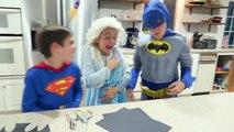 Vampire Bites Frozen Elsa Batman Superman | Compilation | Halloween Fun | Comic Movie