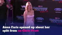 Anna Faris talks split from Chris Pratt in new book