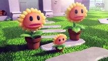 Plants vs Zombies 3D Animation Kung Fu Zombies 植物大战僵尸!