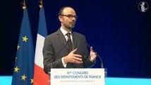 Discours du Premier ministre devant le Congrès de l'Association des Départements de France