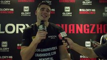 GLORY 46 Post-Fight: Rico Verhoeven on win over 'Bigfoot' Silva