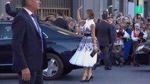 El vestido de la Reina Letizia en los premios Princesa de Asturias