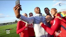 Kobe Bryant de passage au Camp des Loges du PSG
