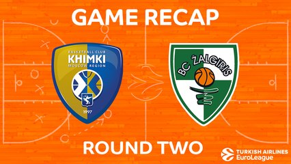 EuroLeague 2017-18 Highlights Regular Season Round 2 video: Khimki 85-77 Zalgiris
