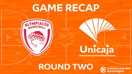 EuroLeague 2017-18 Highlights Regular Season Round 2 video: Olympiacos 80-75 Unicaja