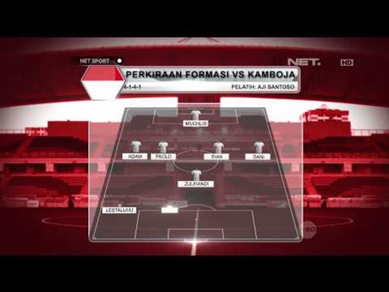 NET Sport - Garuda Muda Benamkan Kamboja 6 - 1