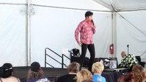 Austin Irby sings 'A Little Less Conversation' Elvis Week 2017