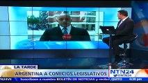"""Gobierno argentino debió """"aplicar la ley"""" para evitar caos político por caso de Santiago Maldonado: Florencia Arieto"""