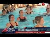 Sensasi Berlatih Fitnes di Kolam Air