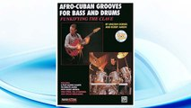 Download PDF Funkifying the Clave: Afro-Cuban Grooves for Bass and Drums, Book & CD (Manhattan Music Publications) FREE