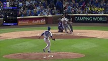 Chicago Cubs Vs. Los Angeles Dodgers - NLCS Game 5 - October 19, 2017 Highlights | C Highlights