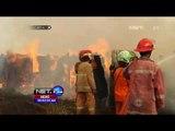 Pabrik Kayu Terbakar Hebat, Belasan Rumah Habis Dilalap Api - NET24