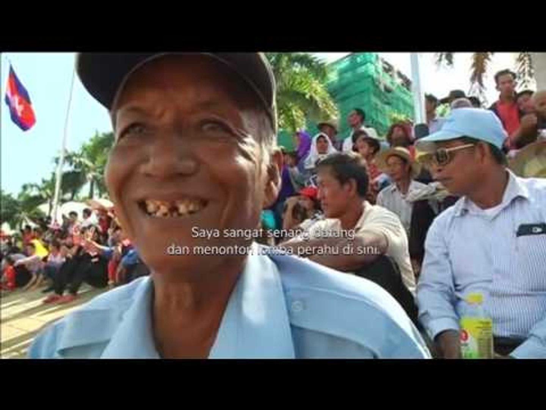 Ratusan Perahu Naga Ramaikan Festival Air di Kamboja - NET24