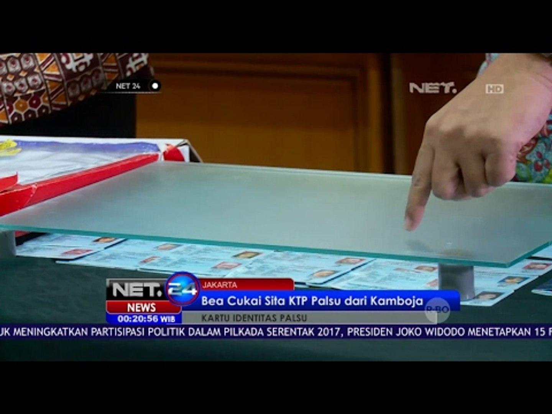 Puluhan KTP Palsu dari Kamboja Disita Dirjen Bea dan Cukai - NET24